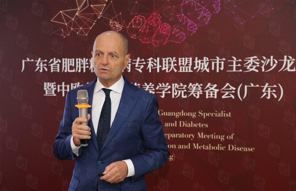 瑞士领誉医疗心脏康复中心院长、美国心脏病学会院士(FACC)法比奥·贝洛托教授